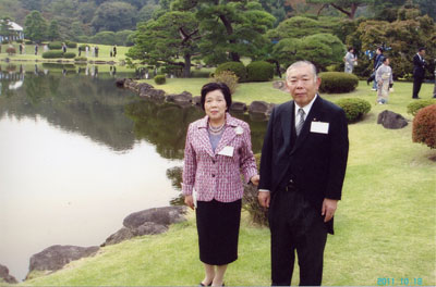 大澤会長と洋子夫人