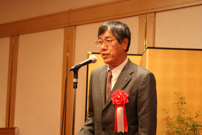 日本水道協会の尾﨑専務理事